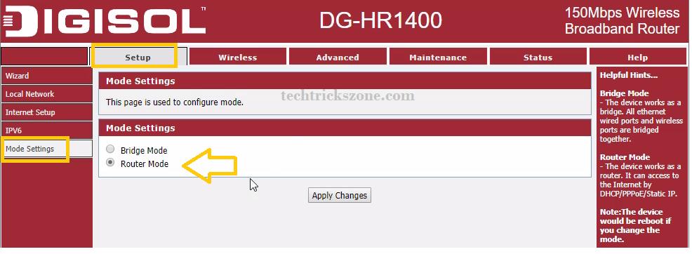 Digisol 300 Mbps Wireless Router (DG-HR3400)