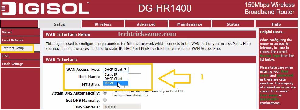 digisol dg-hr3400 setup
