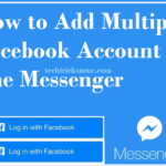 multiple account in facebook messengers