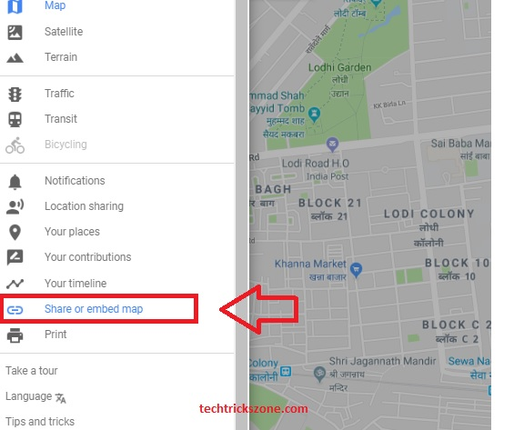how to add location map in wordpress