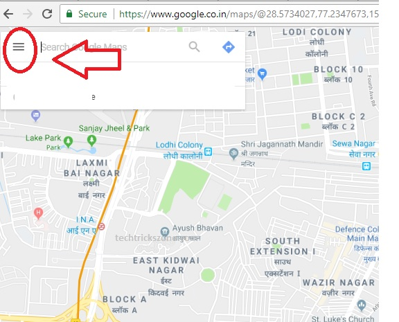 how to add a place in google maps permanently