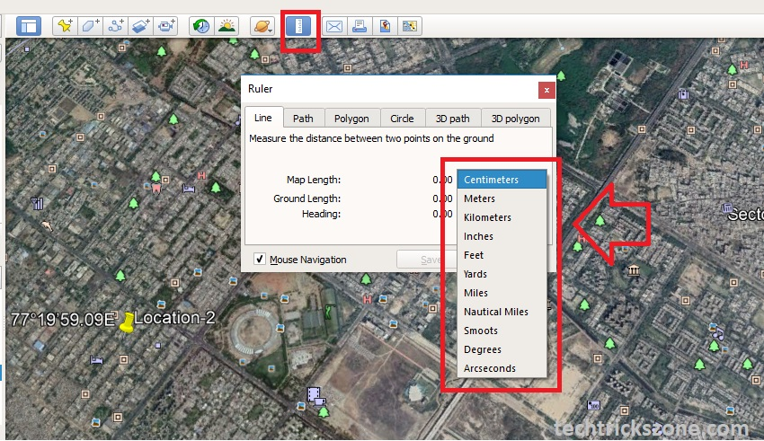 How to Check Tower Height for Long Distance Point to Point Google Earth