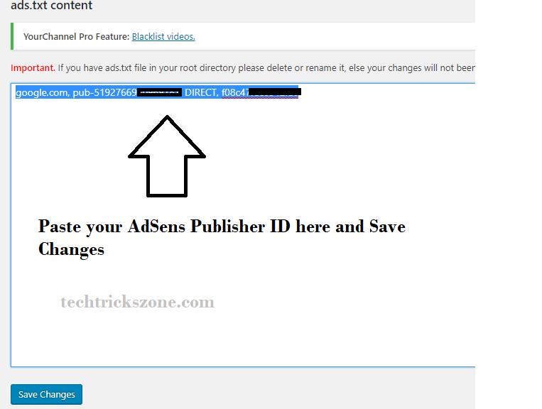 is it mandatory to add ads.txt for adsense
