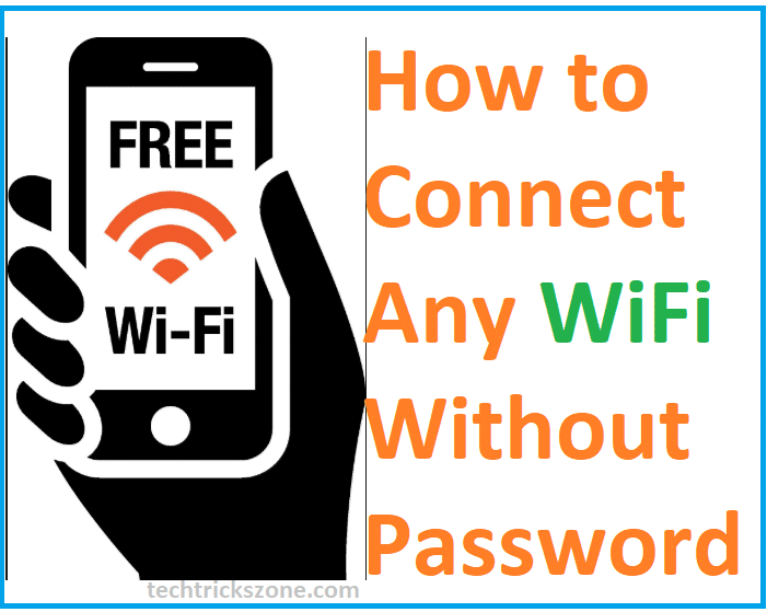 How to Connect WiFi without Password from mobile