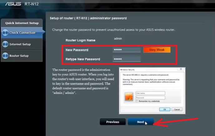 Asus Wifi repeater test