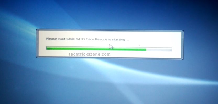 how to restore sony vaio to factory settings windows