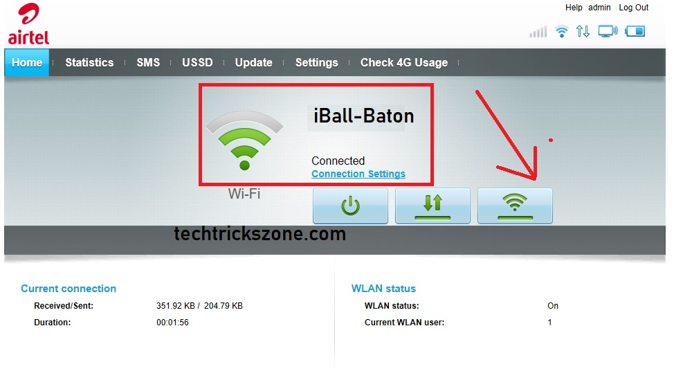 How to use Airtel hotspot 4G Router as Range Extender (WiFi