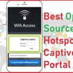 best open source captive portal login page