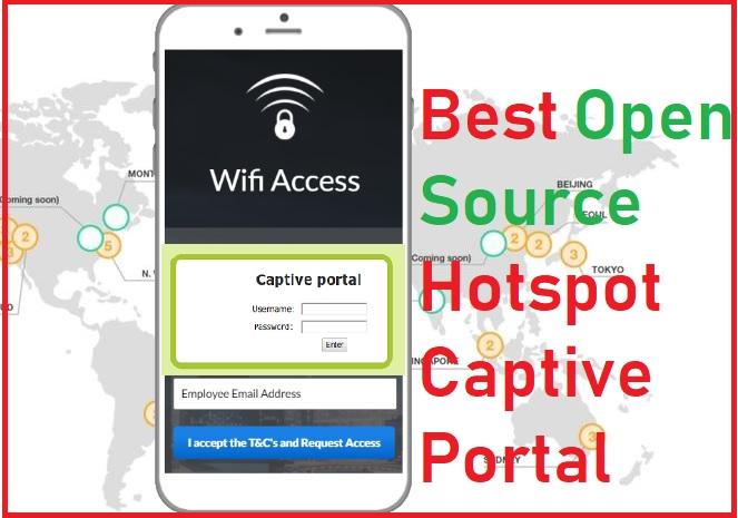 5 Best Open Source Captive Portal Login Page for Hotspot