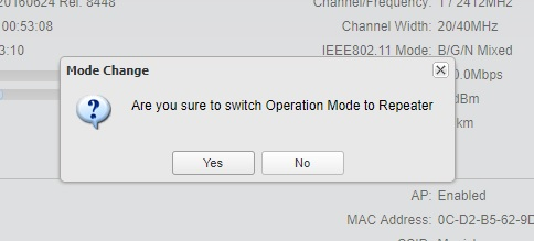 How to Configure the Repeater Mode on the Pharos device?