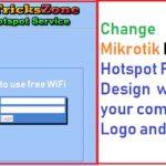 Customize MikroTik Hotspot login page