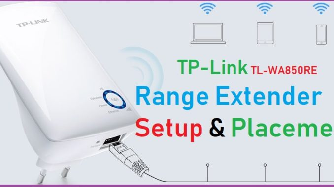 tp link repeater setup