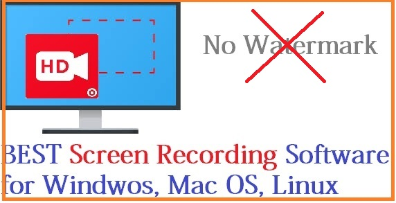 Best Open Source Screen Recording Software NO Watermarks