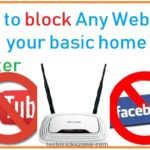 How to block a Website on ADSL WiFi Router