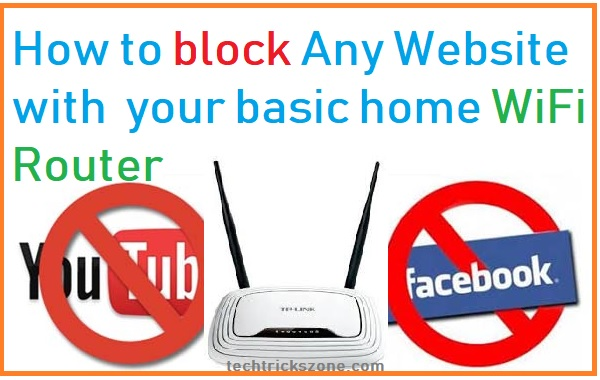 How to block a Website on ADSL WiFi Router with 3 Steps