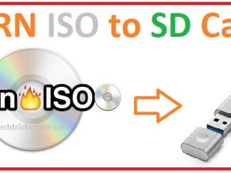 How to Burn ISO to microSD card with Etcher