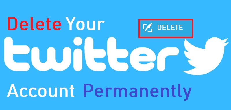 How to Delete Twitter Account permanently from mobile and PC