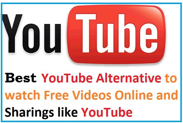 Best YouTube Alternative to watch Free Videos Online