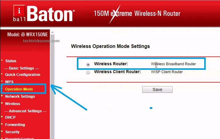 iball baton wireless repeater setup