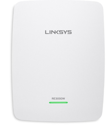 Linksys RE3000W N300 2.4 GHz WiFi Wireless Single Band Range Extender