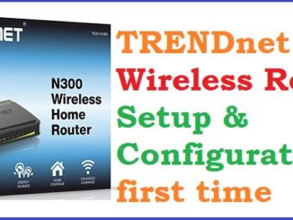 TRENDnet N300 TEW-731BR Wi-Fi Router Setup and Configuration