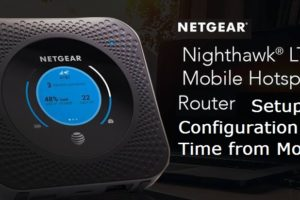 Nighthawk 4G Hotspot WiFi Router Configuration