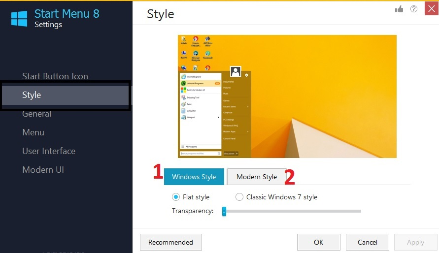 how to get old start menu in windows 10