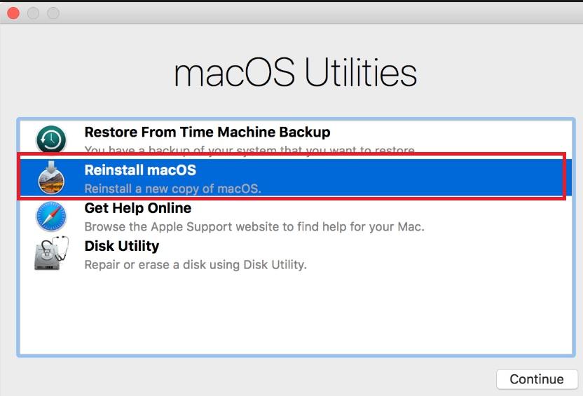 mac mini bị kẹt trên logo của apple sau khi cập nhật