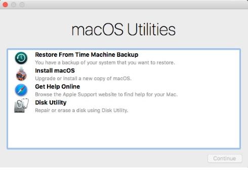 mac mini stuck in reboot loop