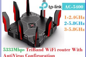 TP Link Archer C5400 Tri-Band Router Configuration