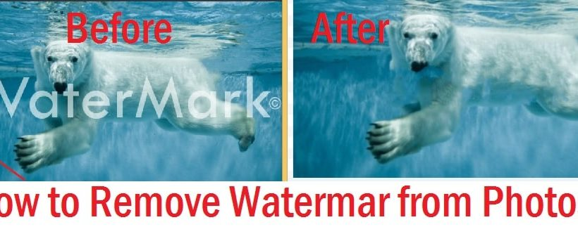 How to Remove Watermarks from Images