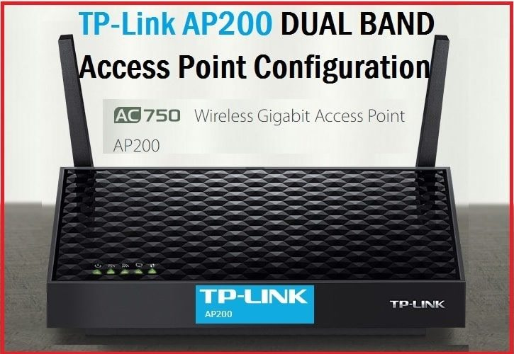 how to configure TP-Link AP 200 Access Point First Time