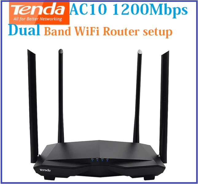 Tenda AC10 Smart Dual-Band Wi-Fi Router setup