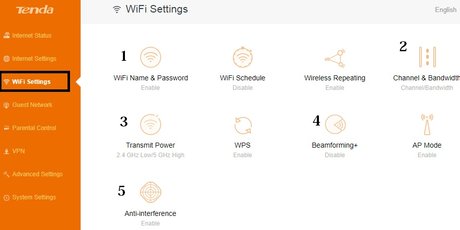 tenda a6 ac1200 smart dual band wireless router