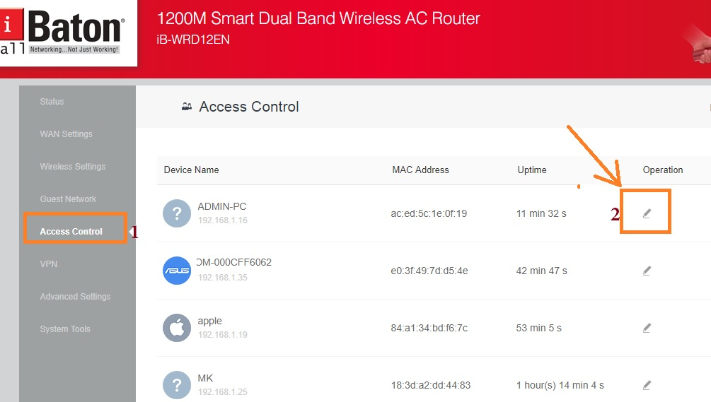 How to limit WIFI Speed for others on iBall Router