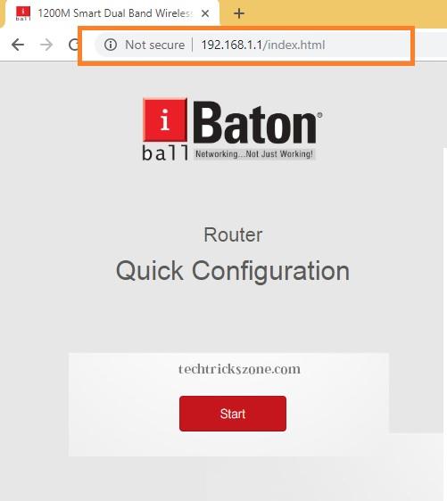 iball baton wifi router range