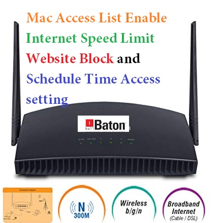 How to set internet Speed limit in iBall AC1200 WiFi Router
