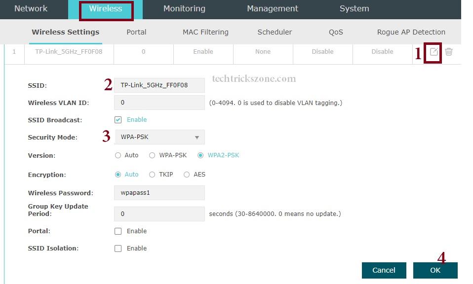 tp link eap110 konfigurieren