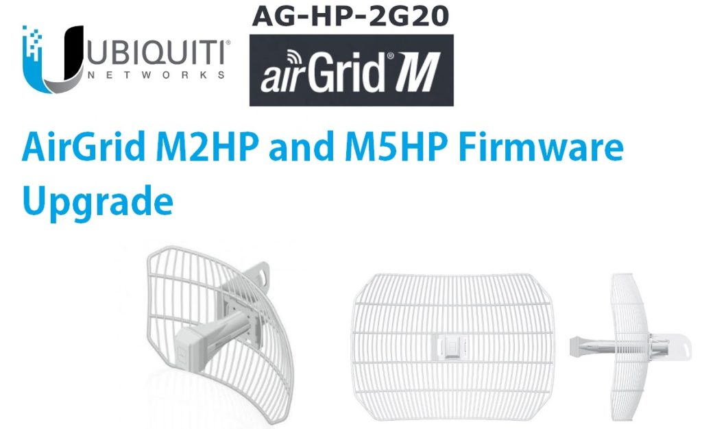 UBNT airGrid M series Firmware upgrade without internet