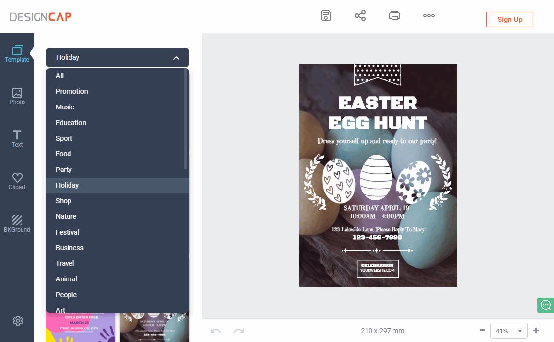 free online poster maker canva