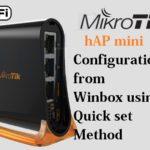 MikroTik hAP mini WiFi Router configuration