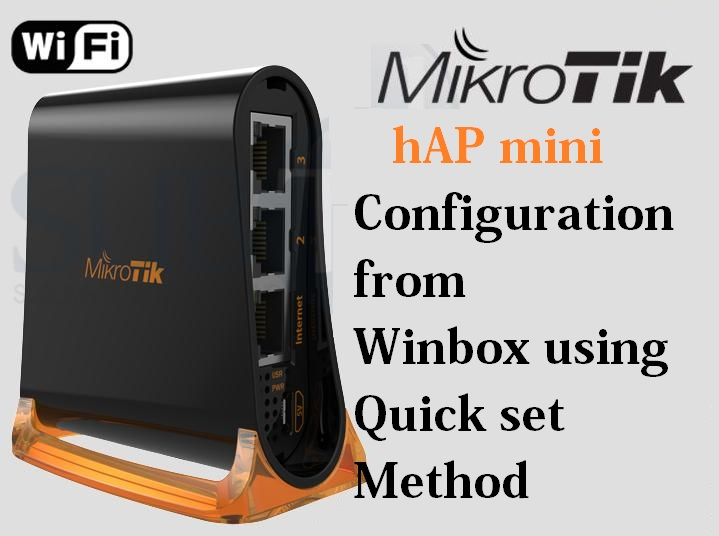 MikroTik hAP mini  WiFi Router configuration