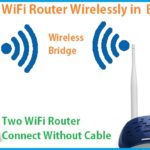 How to connect two WiFi routers wirelessly Without Cable