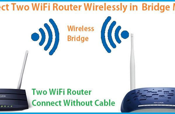 How to connect two Wi-Fi routers wirelessly Without Cable
