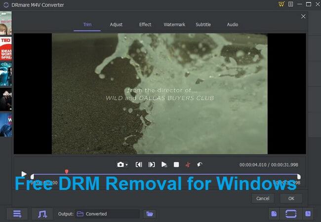 free drm m4v converter