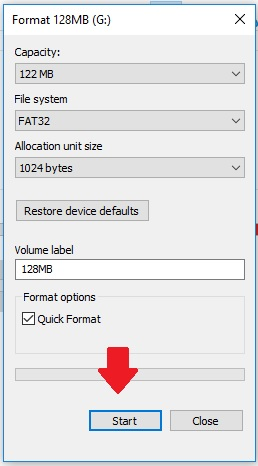How to format USB storage device for playback on TV
