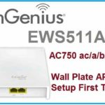 EnGenius Wireless EWS511AP Wall Plate Access Point configuration manual