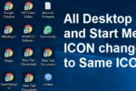 Desktop all icons changed into lnk file