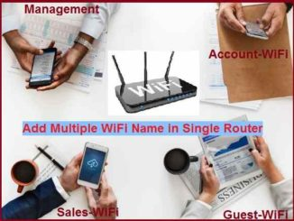 Add Multiple SSID in Single Access Point