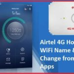 Airtel 4G Hotspot Router Configure from apps